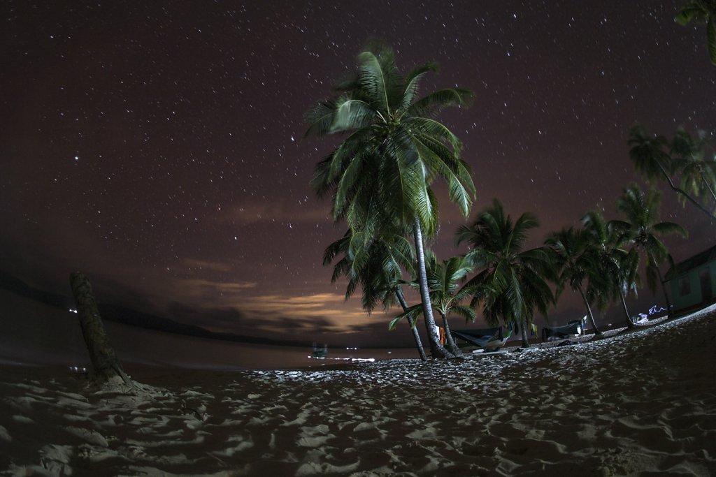 The island remains awake